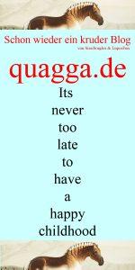 Quagga Blog Logo Bild Grafik WebSite SissySorglos & LuposFun